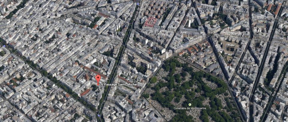 Map Espace Saint Michel